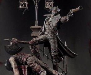 Хотели бы себе такую статую Охотника из Bloodborne?