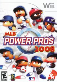 Обложка MLB Power Pros 2008