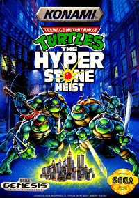 Обложка Teenage Mutant Ninja Turtles: The Hyperstone Heist