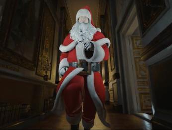 В новой миссии Hitman примерит костюм Санта-Клауса