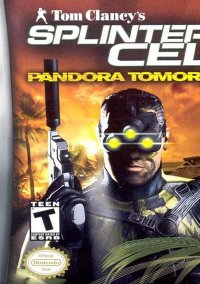 Обложка Tom Clancy's Splinter Cell: Pandora Tomorrow