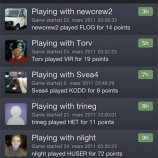 Скриншот Wordfeud