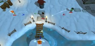 Super Snow Fight. Трейлер к релизу PC-версии
