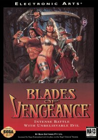 Обложка Blades of Vengeance
