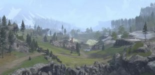 Total War: Arena. Карта Alpis Graia