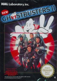 Обложка New Ghostbusters II