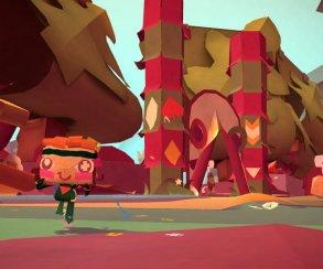 В рекламе Tearaway смешались игровая графика и живая съемка