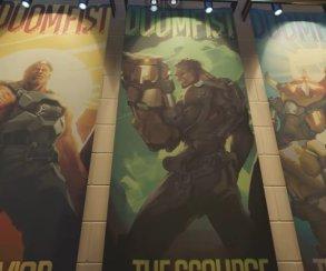 Кулак смерти наконец-то добрался до Overwatch. Встречаем нового героя!