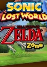 Обложка Sonic: Lost World - The Legend of Zelda Zone