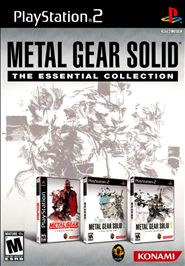 Обложка Metal Gear Solid: The Essential Collection