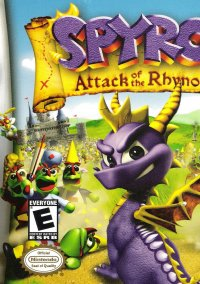 Обложка Spyro: Attack of the Rhynocs