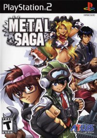 Обложка Metal Saga