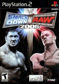 Обложка WWE SmackDown! vs. Raw 2006