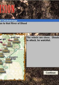 Обложка Civil War Battles: Chickamauga