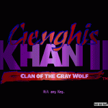 Скриншот Genghis Khan 2: Clan of the Grey Wolf