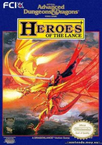 Обложка Advanced Dungeons & Dragons: Heroes of the Lance