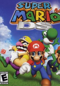 Обложка Super Mario 64 DS