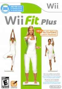 Обложка Wii Fit Plus