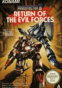 Probotector II: Return of the Evil Forces – фото обложки игры