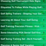 Скриншот All About Golf For Seniors