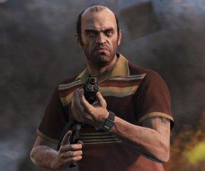 Тревор жалуется на папочку в трейлере Grand Theft Auto 5