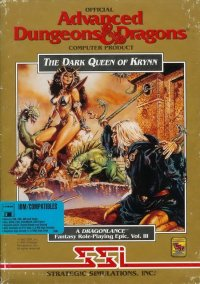 Обложка DragonLance Vol. 3: The Dark Queen of Krynn