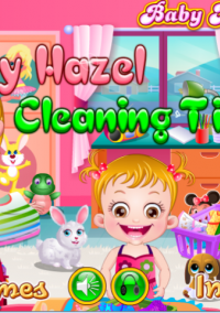 Обложка Baby Hazel Cleaning Time