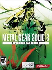 Обложка Metal Gear Solid 3: Subsistence