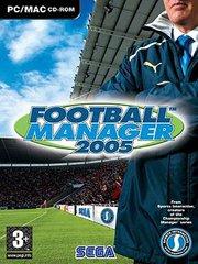 Обложка Football Manager 2005