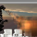 Скриншот Gozilla: City Terror