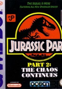 Jurassic Park 2: The Chaos Continues – фото обложки игры