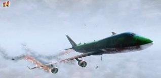 Zombies on a Plane. Видео #1