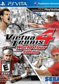 Обложка Virtua Tennis 4: World Tour Edition