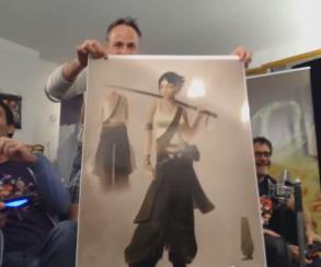 Джейд позирует с катаной на концепт-арте Beyond Good & Evil 2