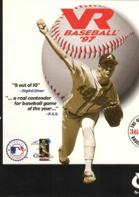 Обложка VR Baseball '97