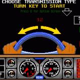 Скриншот Hard Drivin'