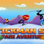 Скриншот Stickman Extreme Hill Climb Adventure Racing - Ski Safari Edition – Изображение 2