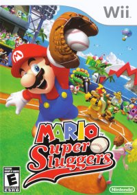 Обложка Mario Super Sluggers