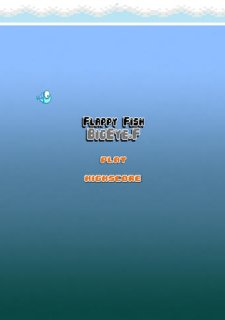 BigEye Flappy little fish Underwater adventure