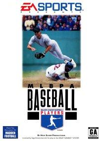 Обложка MLBPA Baseball