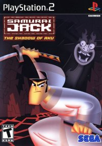 Обложка Samurai Jack The Shadow of Aku