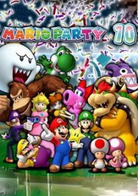 Обложка Mario Party 10