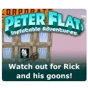 Обложка Peter Flat's Inflatable Adventures