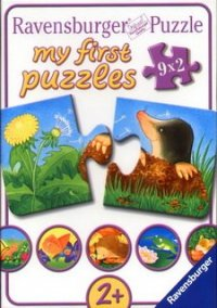 Обложка My first puzzles