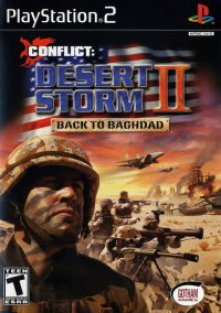 Обложка Conflict: Desert Storm II