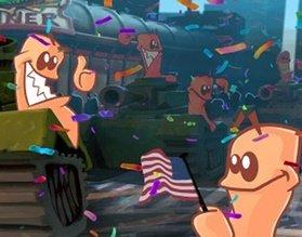Новый трейлер знакомит с мультиплеером Worms W.M.D