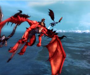 Опубликованы новые скриншоты Crimson Dragon