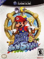 Обложка Super Mario Sunshine