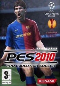 Обложка Pro Evolution Soccer 2010