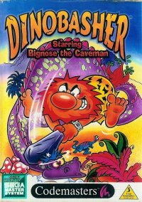 Обложка Dinobasher Starring Bignose the Caveman